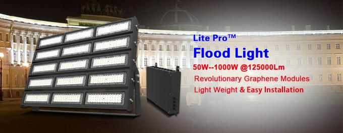 1000W Outdoor Sport Court Lighting 125000lm Sports Ground Floodlights For Soccer Field
