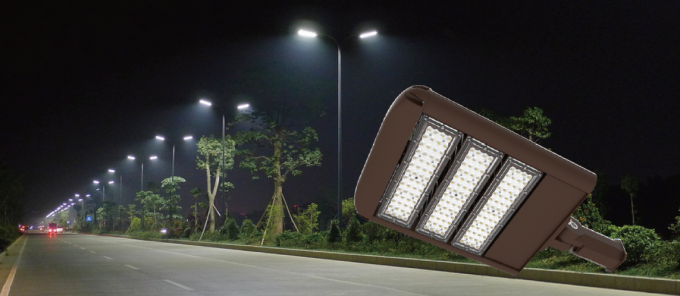 LED Area Lighting 150W / LED Street Lamp With Motion Sensor L70>150,000 Hrs
