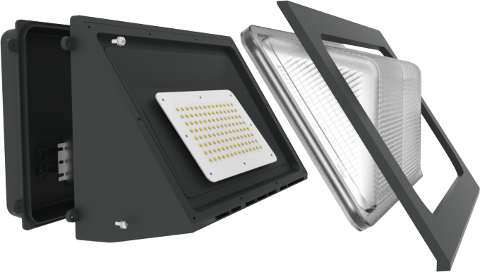 60W Exterior LED Wall Pack Outdoor Gardenr led wall pack lights