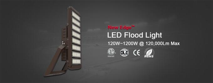High Power Sports Field Lighting / 960W 153600lm Flood For Sports Parks
