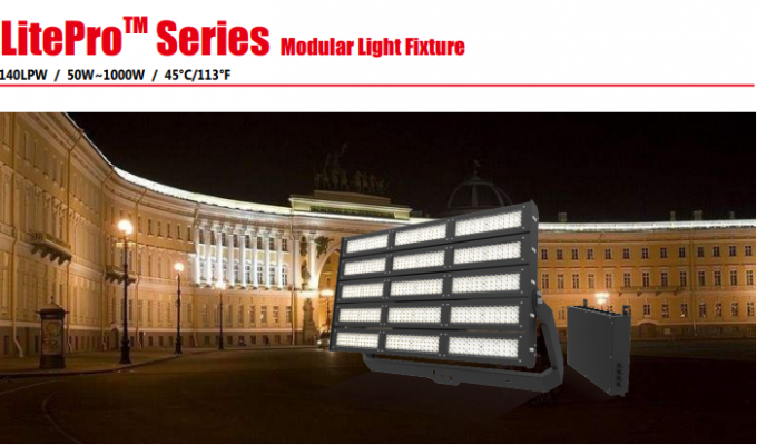 LED Stadium Light Volleyball Court Floodlight 500W LED Football Field Lighting