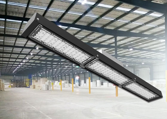 China DLC ETL Industrial Lighting / 480V Warehouse 200W Linear LED High Bay IP66 supplier
