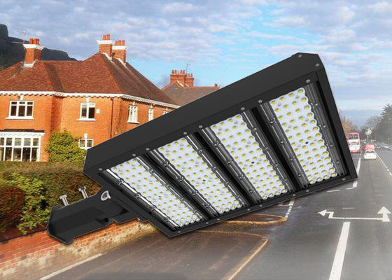China 300W LED Parking Lot Lights 347V 480V High Voltage LED Pole Fixture ETL DLC CB supplier