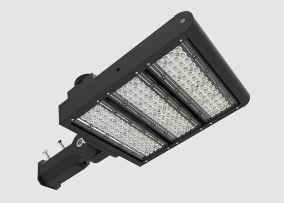 China LED Area Lighting 150W / Motion Sensor LED Street Lights 3G Impact Resistance supplier