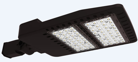 China 100W Adjustable LED Area Parking Lot Light Shoebox Street Light With Ik09 IP66 supplier