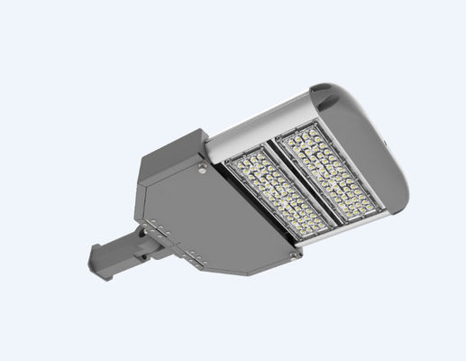 China LED Parking Lot Light 50W 100W  LED Shoe Box Pole Lights Fixture 5000K supplier