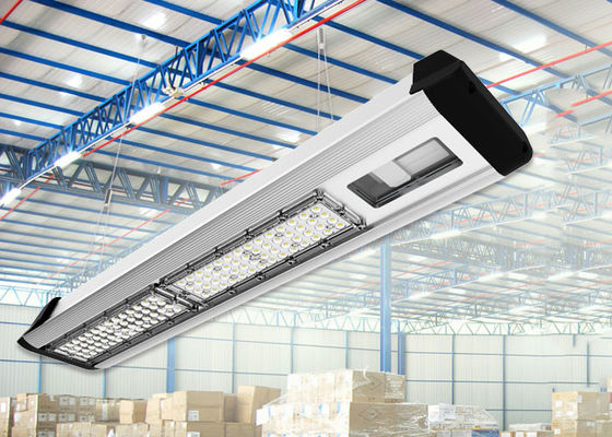 China 300W-100W Warehouse Led Linear High Bay 4FT Industrial Workshop Lights Dimmable distributor