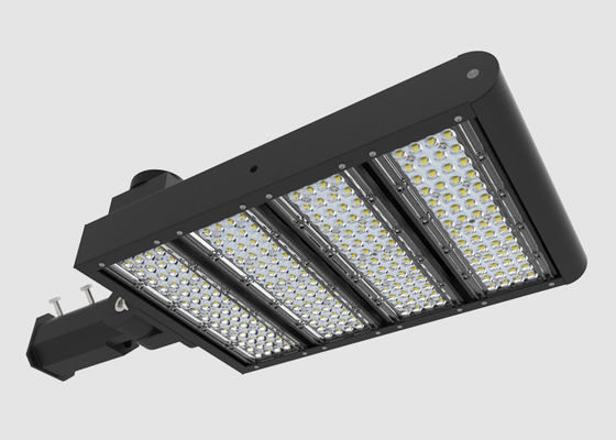 China 140LPW LED Parking Lot Lights / 250W LED Pole Fixture For Car Dealership distributor