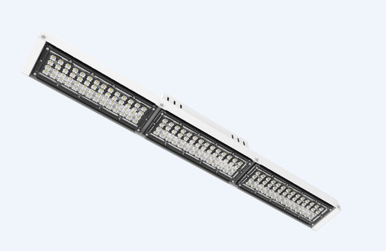 China 150W Linear High Bay Lighting With White & Black Color / Warehouse Linear Fixture distributor
