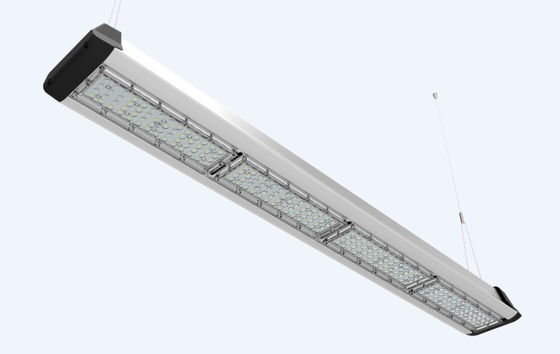 China Chain Mount Or Pendant Light 0-10V Dimming Suspended Led Linear Light IK08 factory